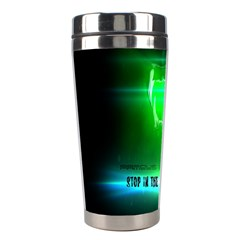 STOP IN THE NAME OF THE LAW Stainless Steel Travel Tumblers