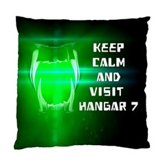 Keep Calm And Visit Hangar 7 Standard Cushion Cases (two Sides)