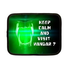 KEEP CALM AND VISIT HANGAR 7 Netbook Case (Small)