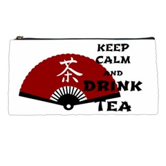 keep calm and drink tea - asia edition Pencil Cases