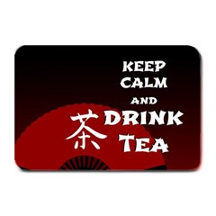 Keep Calm And Drink Tea - dark asia edition Plate Mats