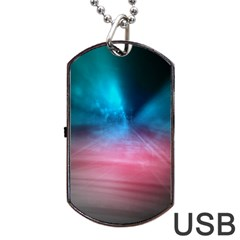 Aura By Bighop Collection Dog Tag Usb Flash (one Side)