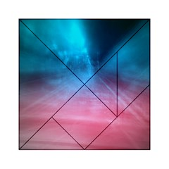 Aura By Bighop Collection Acrylic Tangram Puzzle (6  X 6 )