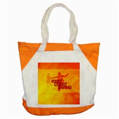 West Coast Swing Accent Tote Bag