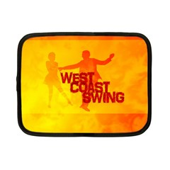 West Coast Swing Netbook Case (small)