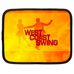 West Coast Swing Netbook Case (XL)