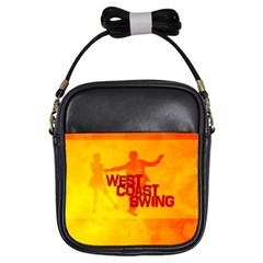 West Coast Swing Girls Sling Bags