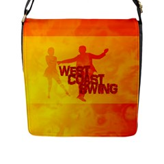 West Coast Swing Flap Messenger Bag (L)