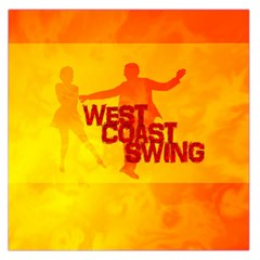 West Coast Swing Large Satin Scarf (Square)