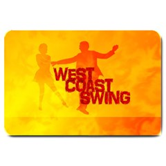WEST COAST SWING Large Doormat