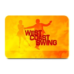 West Coast Swing Plate Mats