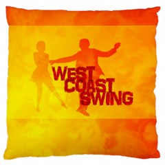 West Coast Swing Large Cushion Case (two Sides)
