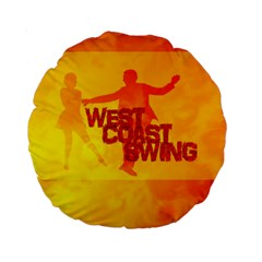 WEST COAST SWING Standard 15  Premium Round Cushions