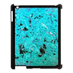Aquamarine Collection Apple Ipad 3/4 Case (black)
