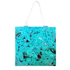 Aquamarine Collection Grocery Light Tote Bag