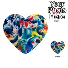 Colors Of The World Bighop Collection By Jandi Playing Cards 54 (heart)