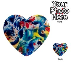 Colors Of The World Bighop Collection By Jandi Multi Purpose Cards (heart)