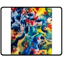Colors Of The World Bighop Collection By Jandi Fleece Blanket (medium)