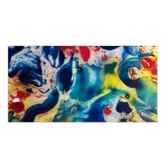 Colors Of The World Bighop Collection By Jandi Satin Shawl