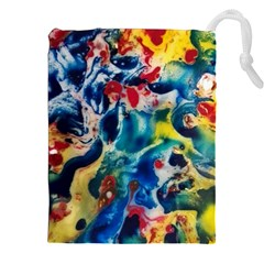 Colors of the world Bighop Collection by Jandi Drawstring Pouches (XXL)