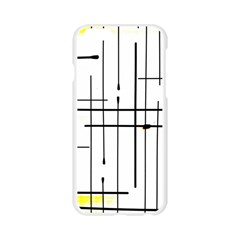 White Limits By Jandi Apple Seamless iPhone 6/6S Case (Transparent)