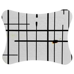 White Limits By Jandi Jigsaw Puzzle Photo Stand (Bow)
