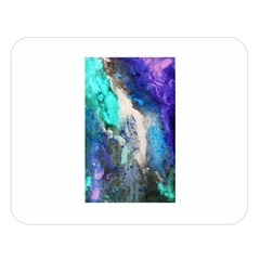 Violet Art Double Sided Flano Blanket (large)