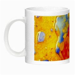 Gold And Red Night Luminous Mugs