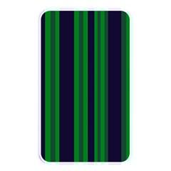 Dark Blue Green Striped Pattern Memory Card Reader