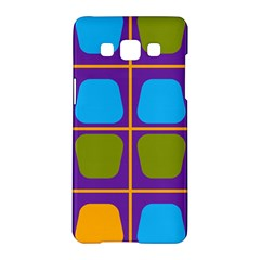 Shapes In Squares Pattern 			samsung Galaxy A5 Hardshell Case