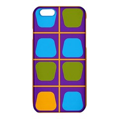 Shapes in squares pattern iPhone 6/6S TPU Case