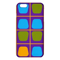 Shapes in squares pattern 			iPhone 6 Plus/6S Plus TPU Case