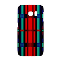 Stripes And Rectangles  samsung Galaxy S6 Edge Hardshell Case