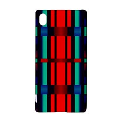 Stripes and rectangles  Sony Xperia Z3+ Hardshell Case