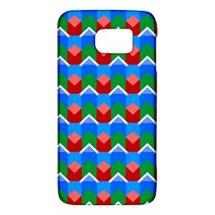 Shapes Rows samsung Galaxy S6 Hardshell Case