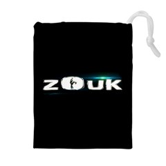 ZOUK DANCE Drawstring Pouches (Extra Large)