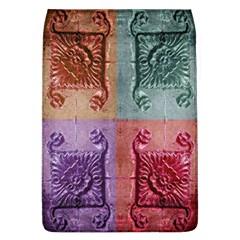 Vintage Flower Squares Flap Covers (l)