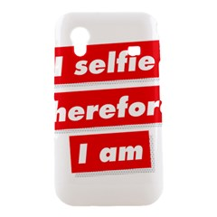 I Selfie Therefore I Am Samsung Galaxy Ace S5830 Hardshell Case
