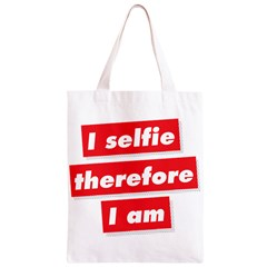 I Selfie Therefore I Am Classic Light Tote Bag