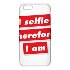 I Selfie Therefore I Am iPhone 6/6S TPU Case