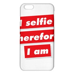 I Selfie Therefore I Am iPhone 6 Plus/6S Plus TPU Case