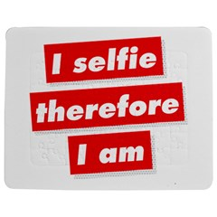 I Selfie Therefore I Am Jigsaw Puzzle Photo Stand (Rectangular)