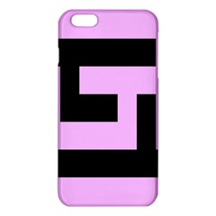 Black And Pink Iphone 6 Plus/6s Plus Tpu Case