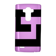 Black and Pink LG G4 Hardshell Case