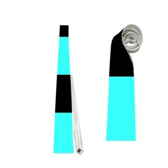 Black And Teal Neckties (two Side)