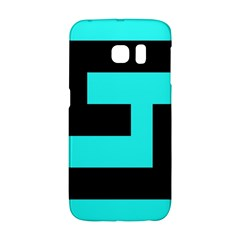Black And Teal Galaxy S6 Edge