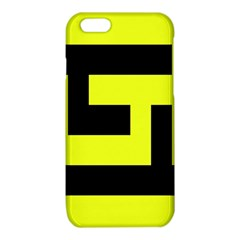 Black and Yellow iPhone 6/6S TPU Case