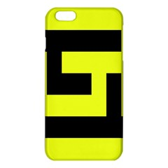 Black and Yellow iPhone 6 Plus/6S Plus TPU Case