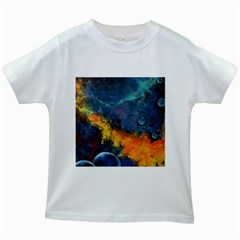 Space Balls Kids White T Shirts