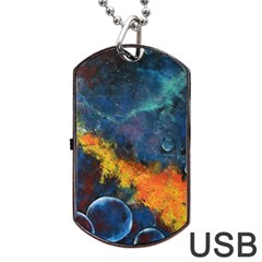Space Balls Dog Tag Usb Flash (two Sides)